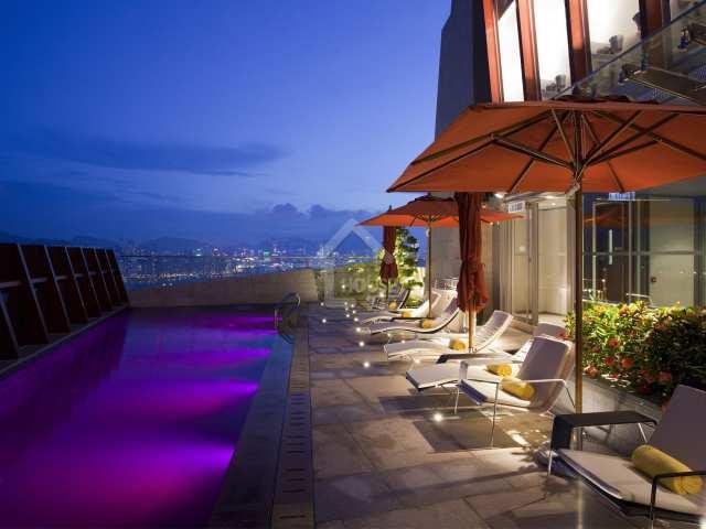 觀塘 九龍東如心酒店 全棟 天台 swimming pool House730-3693263